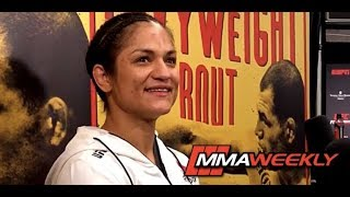 UFC on ESPN 1 Post-Fight: Cynthia Calvillo by MMA Weekly