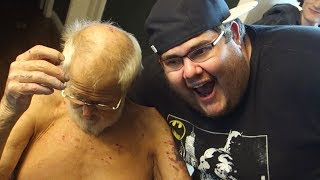 Yesterday's Vlog - https://www.youtube.com/watch?v=mA5DMuVkOoESUBSCRIBE: https://www.youtube.com/KidBehindacamera?sub_confirmation=1Vlog #1102 - Today, Grandpa gets a surprise and in honor of Chester I tell my Linkin Park story...  Pickleboy on Twitter - https://twitter.com/LyricoldrapGrandpa on Twitter - https://twitter.com/TheAngryGrandpaBridgette on Twitter - https://twitter.com/BridgetteWest-----------Pickleboy's Instagram - https://www.instagram.com/kidbehindacameraBridgette's Instagram - https://www.instagram.com/princessbridgettewest/Angry Grandpa Store: http://www.theangrygrandpa.com/Send Mail To: Charles GreenPO Box 51734Summerville, SC 29485This is the daily life of a sometimes happy, sometimes miserable family from Summerville, SC living with a Grandpa who flips out for no reason. Thank you guys so much for all the support, you've changed our lives and continue to do so on a daily basis.
