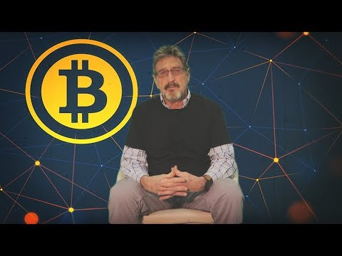 John McAfee Has A POWERFUL MESSAGE for the BLOCKCHAIN Community (видео)