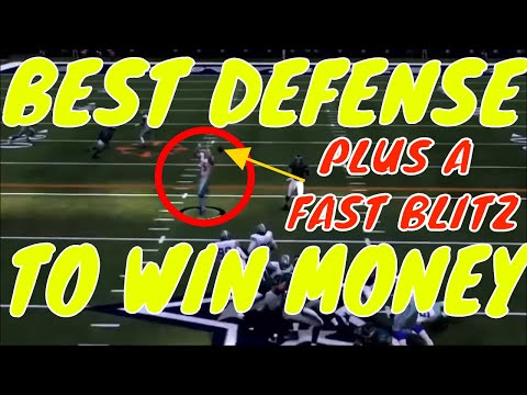 madden 19 best defense for money games plus a fast blitz ag