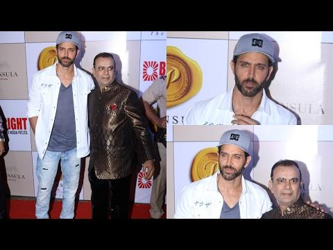 Hrithik Roshan At 3rd Bright Awards