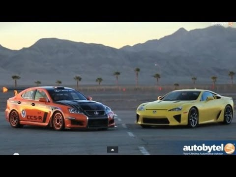 Lexus IS-F CCS-R Overview and Track Test w/ Ken Gushi
