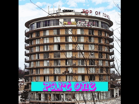 Abandoned Top Of The Tower Restaurant 10 Floors PART 1