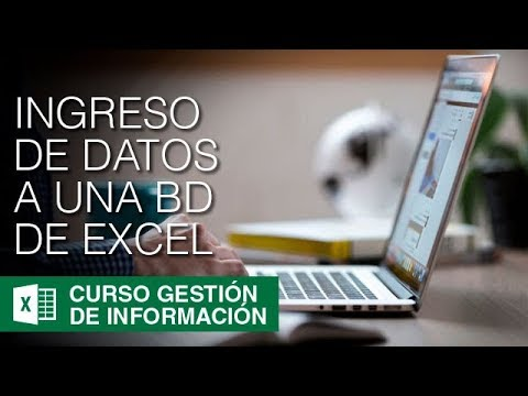 INGRESO DE DATOS A UNA BASE DE DATOS EN EXCEL