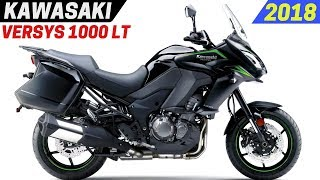 9. NEW 2018 Kawasaki Versys 1000 LT - Updated With New Color And Performance