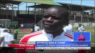 Kisumu's Palos FC offer soccer camp to school kids who also get bible lessons