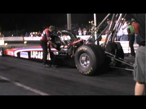 The Greek's Top Fuel Dragster at The 2011 World Series Of Drag Racing!!!