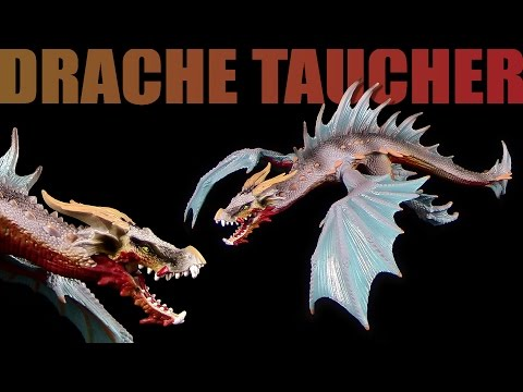 Schleich ® Drache Taucher / Dragon Diver - Unboxing & Review