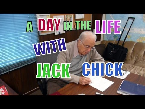A Day In The Life With Jack Chick