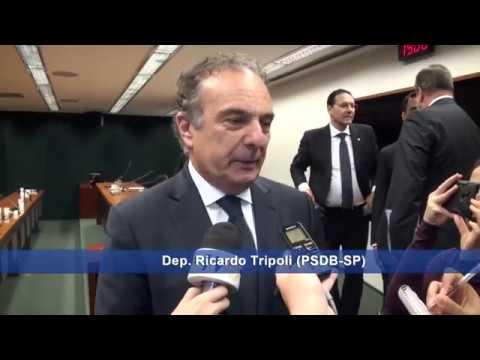 Bancada do PSDB na Câmara elege Ricardo Tripoli líder da bancada para 2017