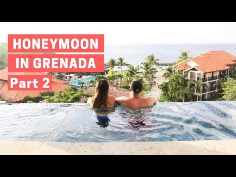 GRENADA HONEYMOON PT TWO: INSANE SKY POOL SUITE AND SNORKLING | BRYCE & STEF