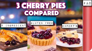 Thanksgiving Cherry Pie Recipe- Compared by SORTEDfood