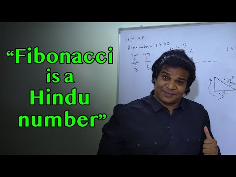 Fibonacci Number - Is it a Hindu number used in Ancient India? Secret of Life | Praveen Mohan |