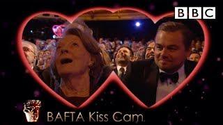 Video Leonardo DiCaprio and Dame Maggie Smith on Kiss Cam - The British Academy Film Awards 2016 - BBC One MP3, 3GP, MP4, WEBM, AVI, FLV Mei 2017
