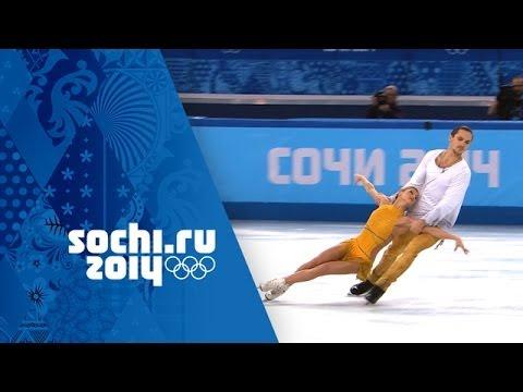 Tatiana Volosozhar & Maxim Trankov Win Gold – Full Free Program   Sochi 2014 Winter Olympics