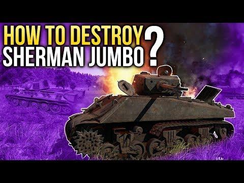 How to destroy the Jumbo❓ / War Thunder