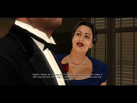 PC - The Godfather The Game - GamePlay [4K:60FPS]