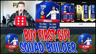 98 RB RONALDO WÜRFEL BUY FIRST GUY SQUAD BUILDER CHALLENGE!! 🔥⚽ - FIFA 17 ULTIMATE TEAM (DEUTSCH)►► FIFA 17 COINS fürs TOTS (100% SICHER & in 2 MIN) : https://goo.gl/Qbg4Y1 (+ 8% Rabatt : FIFAGAMING) ►► FIFA 17 Accounts mit FIFA COINS : https://goo.gl/Qbg4Y1► MEIN SHOP : https://www.shirt-tube.de/youtuber/fifagaming/►► MEINE SPONSOREN :✖️ FIFA COINS,FIFA POINTS,XBOX/PSN Cards bei IGVUALT : https://goo.gl/Qbg4Y1✖️ FIFA COINS,FIFA POINTS, GAMEKEYS, XBOX/PSN Cards bei MMOGA : http://mmo.ga/u2TN►► Meinen BRUDER (Claas) ABONNIEREN : https://goo.gl/rT2mda►► FOLGT MIR HIER (um nix zu verpassen) :✘✘✘ MEINEN 2. KANAL ABONNIEREN!! : https://goo.gl/fNQ4I8 ✘ INSTAGRAM : https://goo.gl/tFHdQr✘ Twitch Livestreams : https://goo.gl/EBkWa6✘ Facebook: http://on.fb.me/1R9BJom★ BUSINESS EMAIL : tiradorlp@googlemail.com✘ Mein Designer : https://goo.gl/O1OJg9●▬▬▬▬▬▬▬▬▬▬▬▬▬▬▬▬▬▬●Falls ihr mich unterstützen wollt, kauft BITTE über MEINE LINKS in der Videobeschreibung.Es kostet euch keinen Cent mehr & ihr unterstützt MICH!! DANKE