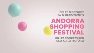 T'esperem a #AndorraWorld !! Vina a l' #AndorraShoppingFestival del 28 d'octubre al 13 de noviembre i gaudeix de totes les sorpresas que tenim preparades!! M...