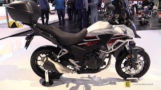 9. 2018 Honda CB500X - Walkaround - 2017 EICMA Milan Motorcycle Exhibition