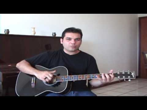Video Aula de Viol�o Para Iniciantes - Parte 2