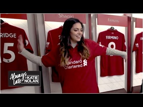 Liverpool fan Katie Nolan's emotional pilgrimage to Anfield | Always Late with Katie Nolan