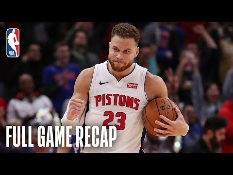 Video: 76ERS vs PISTONS | Blake Griffin Goes For A Career-High 50 Points | October 23, 2018