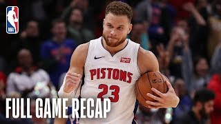 76ERS vs PISTONS | Blake Griffin Goes For A Career-High 50 Points | October 23, 2018 by NBA