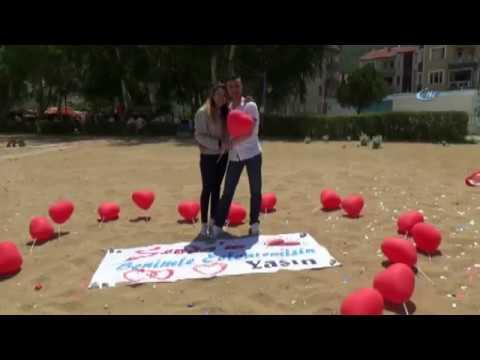 Amatör Paraşütçü, Kız Arkadaşının Adrenalin Sevdasını Fırsata Çevirdi (видео)