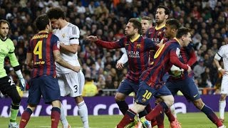 Video El Clasico - Real Madrid vs Barcelona (Fights, Fouls, Red Cards) MP3, 3GP, MP4, WEBM, AVI, FLV Agustus 2018