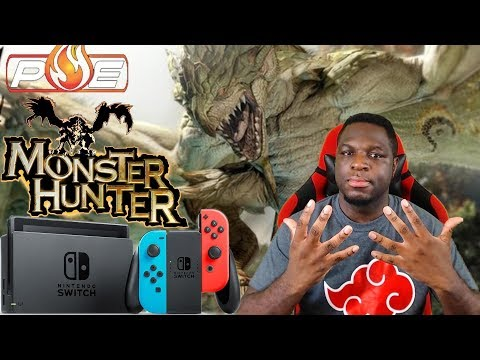 What's Up With Capcom, Monster Hunter & The Nintendo Switch? | PE RantZ