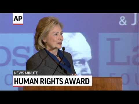 associated press - Here's the latest news for Friday, December 6th: Mandela mourned as funeral date set; Hillary Clinton gets human rights award; Storm forces cancellation of D...