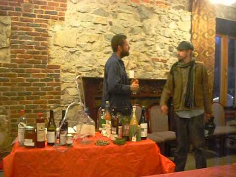 Marc N. Williams, How to brew Beer, Liquor, Aphrodiac Drinks @  The Stonehouse