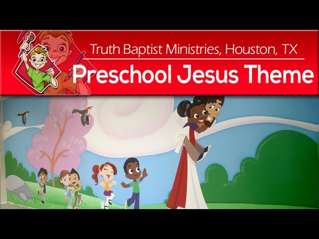 Jesus Preschool Children's Ministry Theme by Creative For Kids