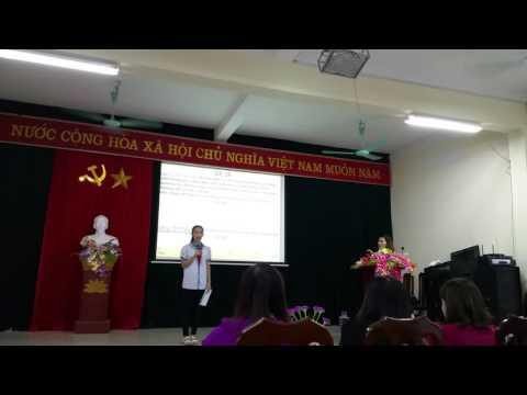 Phần thi học sinh giỏi cấp huyện môn GDCD của Nguyễn Thị Thu Trang lớp 9A3