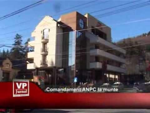 Comandament ANPC la munte