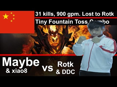 31 kills 900 gpm SF lost to EPIC Tiny Fountain Toss Combo by ROTK !