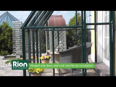 Rion Anlehngewächshaus Wintergarten Sun Lounge 34 | ENGLISCH | Clemens HobbyTec