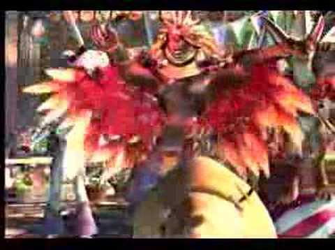 Banned commercial Final Fantasy coca cola commercial
