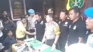 Penangkapan Ridho Roma Menggunakan Sabu di Hotel
