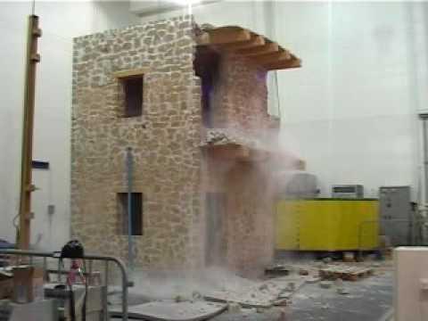 test sismico tipica casa tradizionale italiana