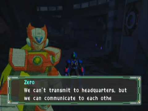 Mega Man X Command Mission GameCube