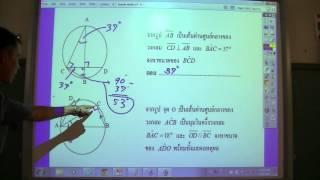 ทฤษฏีบทเกี่ยวกับวงกลม-circle theorems1