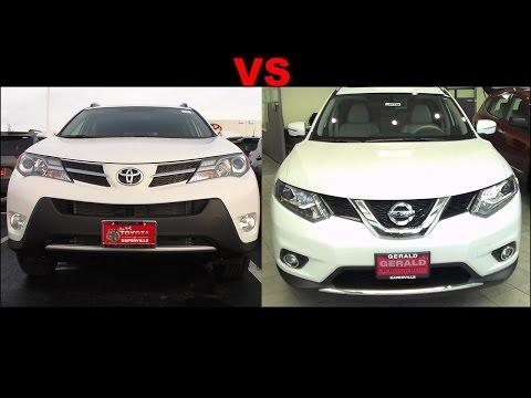 2015 Nissan Rogue VS 2015 Toyota RAV4
