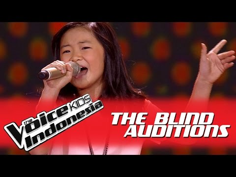 "Novel ""Mercy"" I The Blind Auditions I The Voice Kids Indonesia GlobalTV 2016"