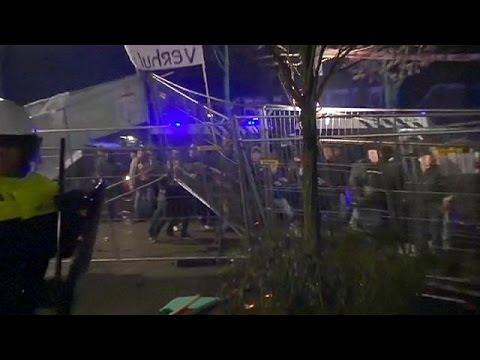 Ολλανδία: Βίαιες διαδηλώσεις κατά της φιλοξενίας προσφύγων