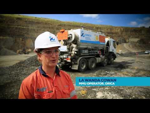 Life as an MMU Operator – Orica Quarry Solutions, Stevenson Group