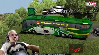 Download Video Bus Famili Raya Evolander melintasi Sitinjau Lauik MP3 3GP MP4