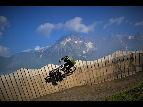 Bikepark Leogang Flying Gangster 2018