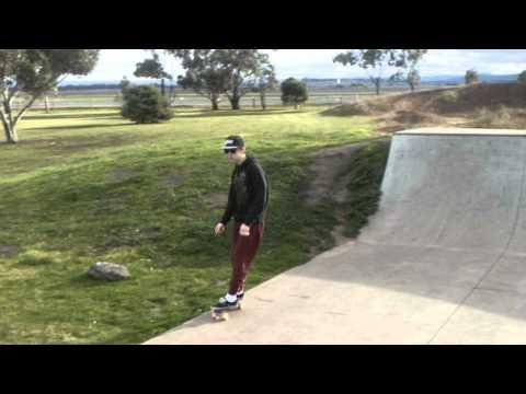 Australia's best Penny boarder hits the skatepark